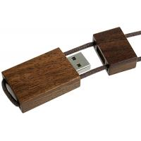 Buy cheap Shenzhen usb flash drive factory full Capacity Lanyard Wooden USB Flash Drive from wholesalers
