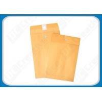 Buy cheap 6.5 x 9.5 Mailing Brown Kraft Paper Metal Clasp Seal Envelopes For Office Eco-Friendly from wholesalers