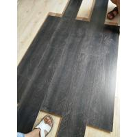 Buy cheap German technology 8mm white MDF/HDF AC4 U-Groove laminate flooring from wholesalers