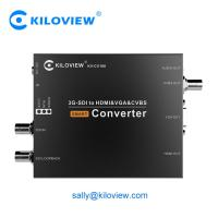 Buy cheap HDMI VGA CVBS to 3G SDI live broadcast video converter UP/Down video converter from wholesalers