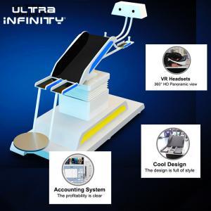 Buy cheap Thrilling 9D VR Flight Simulator Electric Platform / Virtual Reality Game Machine product