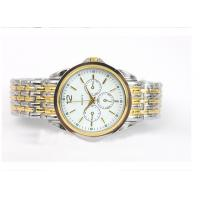 Buy cheap Men Metal Wrist Watch , Fashion Quartz Stainless Steel Strap Watch from wholesalers
