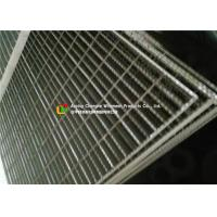 Buy cheap Industrial Plant Serrated Steel Grating With Frame Light Structure High Capacity product
