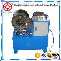 Buy cheap High quality 10sets dies finn-power hydraulic hose crimping machine manufacture from wholesalers