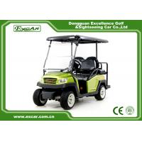 Buy cheap Green Hunting 4 Passenger Golf Cart With Trojan Battery 275A Controller from wholesalers