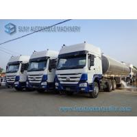Buy cheap Custom 45000L Oil Tank Trailer 3 Axle , Diesel / Jet Chemical Tank Trailer from wholesalers