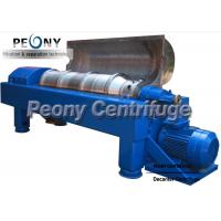 Buy cheap 2Phase Solid Removing Machine Horizontal Decanter Centrifuges For Coagulated Blood Separation product
