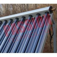 Buy cheap Aluminum Alloy Heat Pipe Solar Collector For Low Temperature Area 15 Tubes from wholesalers