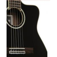 Buy cheap Cordoba 14 Jet A / E Nylon String Acoustic Guitar Jet Black Fan Bracing from wholesalers