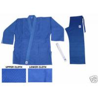 Buy cheap Blue V Neck judo garment reversible judo gi martial arts training equipment from wholesalers
