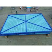 Buy cheap Blue Powder Coated Scaffold Safety Netting Frame 5005 Filling Panel 184A from wholesalers