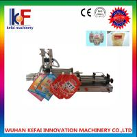 Buy cheap new style machine filling stand up spout pouches filling machine  made in china from wholesalers