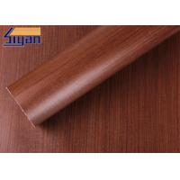 Buy cheap Professional Maple PVC Decorative Foil , PVC Wood Film Free Sample from wholesalers