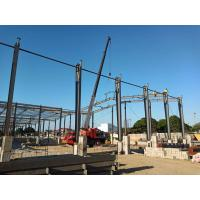 Buy cheap Prefab Metal Workshop Prefabricated Steel Structure Building ISO9001 Listed product