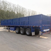 Buy cheap 80Ton Side Wall Semi Trailer from wholesalers