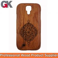 Buy cheap wood phone covers for galaxy s4 i9500, for samsung galaxy s4 bamboo case from wholesalers