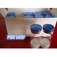 Buy cheap 99% PEG Mechano Growth Factor Peptide Hormone PEG MGF White Powder For Muscle Building from wholesalers