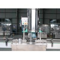 5000BPH 800W Carbonated Beverage Filling Machine Rotary High Viscosity