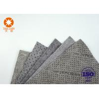 Buy cheap CE Approval Non Slip Underlayment Felts PVC Coated 4m Width With Black / White Dots from wholesalers