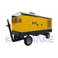 Buy cheap Steel Diesel Driven Air Compressor For Abrasive Blasting 2 Years Warranty from wholesalers