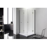 Buy cheap 36 inches corner shower stalls for small bathrooms 6mm Thickness doors from wholesalers