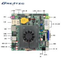 Buy cheap Mini Nano ITX Motherboard Fanless Quad Core CPU J1900 Industrial Board from wholesalers