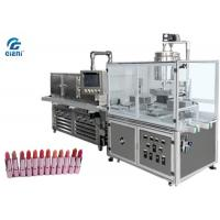 Buy cheap Silicone Mould Lipbalm Filling Machine SUS304 For Soft Viscosity Materials from wholesalers