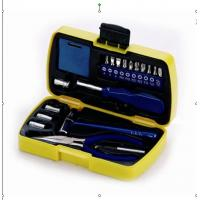 Buy cheap 19 pcs mini tool set ,with pliers ,tape, hammer ,joint bar ,sockets . from wholesalers
