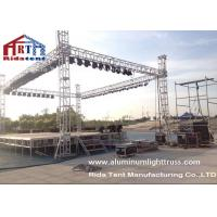 Buy cheap Light Duty Stage Light Truss , Spigot Overhead Square Truss System400 X 60mm Size from wholesalers