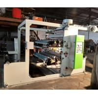 Buy cheap 70 M / Min Two Colour Flexo Printing Machine , Paper Printing Press Machine from wholesalers