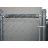 Buy cheap Galvanized chain link fence( diamond wire mesh), PVC Coated Chain mesh Fence from wholesalers