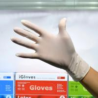Buy cheap Hand Protection Disposable Surgical Gloves , Vinyl Disposable Exam Gloves from wholesalers