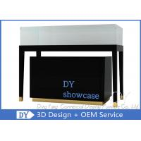 Buy cheap Popular Black Display Glass Showcase / Jewelry Store Showcases from wholesalers