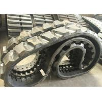 Buy cheap Hitachi Ex120 Ex135u Excavator Rubber Tracks Width 500mm With 84 Links from wholesalers