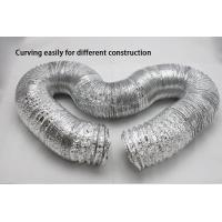 Buy cheap HVAC Systems Alu-PET-Alu small bending radius aluminum flexible ducting from wholesalers