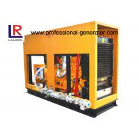 Buy cheap Soundproof 60Hz Biogas Generator Set 160kw 200kVA CHP Use with  6 Cylinder in Line from wholesalers