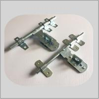 Buy cheap Nickel Plated Lockable Door Bolt , External Door Latch  White Zinc Surface Polish from wholesalers