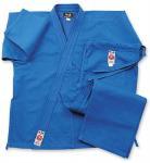 Buy cheap Blue Lightweight GI Karate Uniform , Elastic Waist with Drawstring from wholesalers