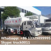 Buy cheap smallest forland LHD 8cbm fish feed delivery trucks for sale, best price forland poultry animal feed delivery truck from wholesalers