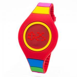 China Gift LED Digital Watches / Customization silicone band led fashion wrist watch on sale