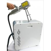 Buy cheap 1.3mJ Pulse Energy  Industrial Parts Fiber Laser Cleaner On Spherical Surface product