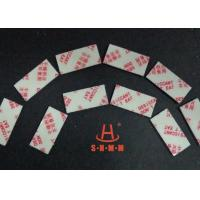 Fiber Rice Desiccant With Thin Sticker Tape , Food Grade Desiccant Packets 1.0mm Thickness