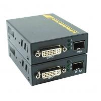 Buy cheap High Speed DVI Fiber Extender With Female DVI Type A Video Connector , 225 MHz product