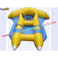 Buy cheap Customized 0.9MM PVC tarpaulin Inflatable fly-fish Boat Toys for Kids from wholesalers