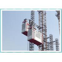 Buy cheap High Lifting Speed Rack And Pinion Hoist , 3 Ton Construction Hoist Safety from wholesalers