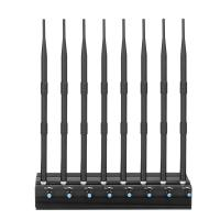 Buy cheap Adjustable 20 watt 8 Antennas 3G 4G Cellphone Jammer and UHF VHF Jammer from wholesalers