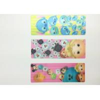 Buy cheap Eco-friendly Kids 3D Lenticular Bookmarks With FAMA 0.6mm PET product