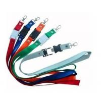 Buy cheap Polyester cheap custom printing lanyard neck strap usb flash drive from wholesalers