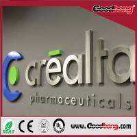 Buy cheap Vacuum Moulding Sheet Forming Strong Ultra-thin LED Signage Letter Billboard With Store from wholesalers
