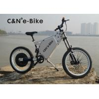Buy cheap Lightweight Outdoor Sports Off Road Electric Bike , Electric Powered Bicycle product